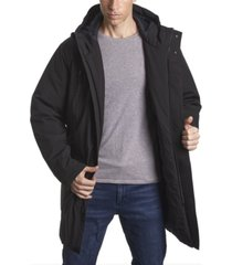 perry ellis men's tech parka jacket