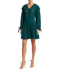 hemmingway micro pleated dress
