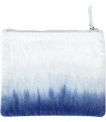 michael aram dip dye ombre 100% cotton beach pouch bedding