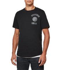 3d graphic logo t-shirt