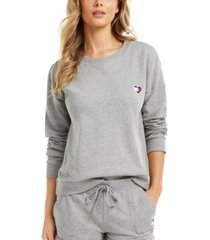 tommy hilfiger colorblocked french terry lounge top