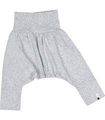 spodnie mini mini - szary + szary gładki