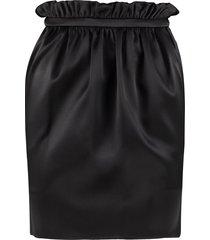 versace gathered skirt