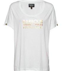 b.intl hurricane tee t-shirts & tops short-sleeved vit barbour