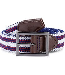robert graham men's spoiler reversible belt - americana - size 40