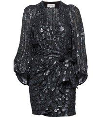 robe ginger korte jurk blauw ba&sh