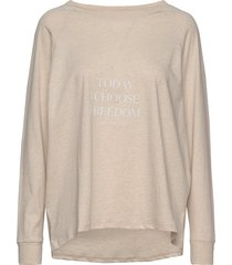 new wave sweat melange sweat-shirt trui crème moshi moshi mind