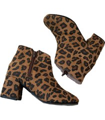 botineta animal print msk