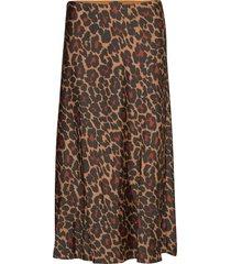 marco skirt leopard knälång kjol multi/mönstrad j.crew