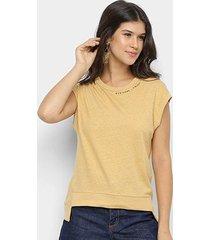 blusa colcci assimétrica eco soul feminina