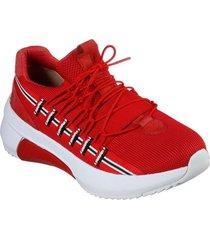 zapatilla modern jogger 2.0 - loop rojo skechers