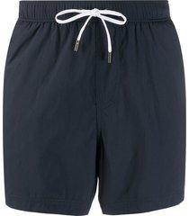 ermenegildo zegna classic swim shorts - blue