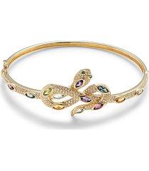 effy women's 14k yellow gold, diamond & multi-stone bracelet