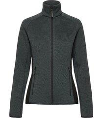 w varde fleece jacket sweat-shirts & hoodies fleeces & midlayers grå helly hansen