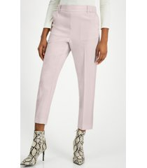alfani plus size pull-on cropped pants, created for macy's