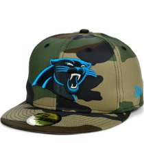 new era carolina panthers woodland 59fifty cap