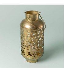 luminária tula cor: ouro - tamanho: único