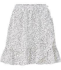 kjol vmdichte short wrap skirt