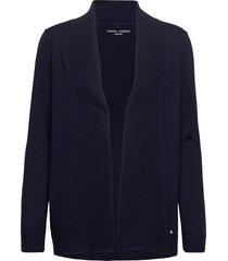 jacket knit fabrics gebreide trui cardigan blauw gerry weber edition