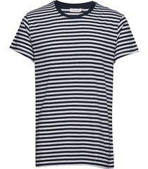 knud t-shirt st 10379 t-shirts short-sleeved vit samsøe samsøe