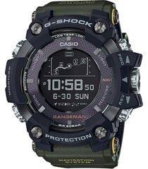 reloj casio rangeman gpr-b1000-1b cristal zafiro