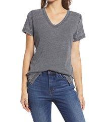 women's gibson x the motherchic beach burnout boyfriend t-shirt, size small - black