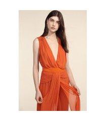 body pregas cristais laranja laranja pierre - 40