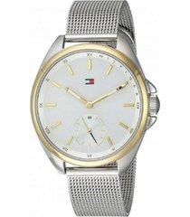 reloj tommy hilfiger 1781759 plateado acero
