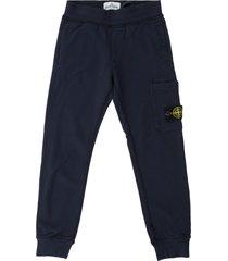 stone island junior track pants w/pocket