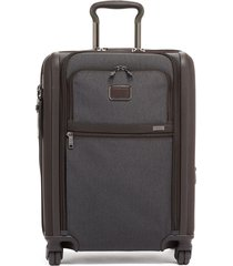 tumi alpha 3 collection 22-inch wheeled dual access continental carry-on -