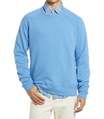 men's nn07 robin 3444 fleece crewneck sweatshirt, size xx-large - blue