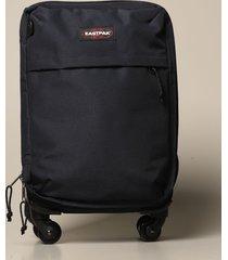 eastpak travel bag trafik 4 s black eastpak suitcase in polyester