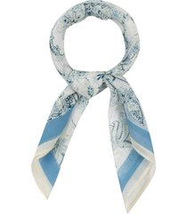 rebecca minkoff floral paisley bandana in light blue multi at nordstrom