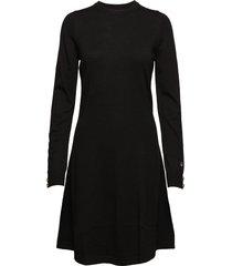 astrid dress knälång klänning svart busnel