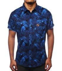 camisa camaleão urbano folhagem costela de adão masculina - masculino