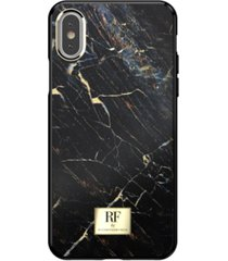 richmond & finch black marble case for iphone x