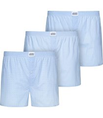 jockey 3 woven soft poplin boxer shorts 3xl-6xl