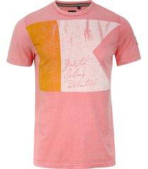 t-shirt flagline roze (135.7400.181 - p057)