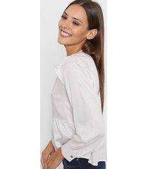blusa blanca nano china