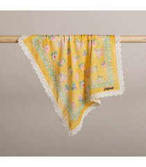 sundance catalog women's sentiment inspiration bandanas in yellow