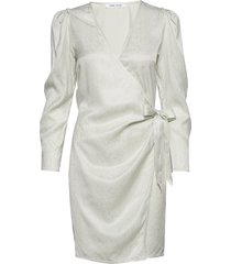 magnhild short dress 12733 knälång klänning vit samsøe & samsøe