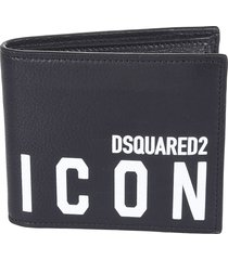 dsquared2 icon bifold wallet