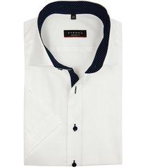 eterna overhemd wit korte mouwen modern fit