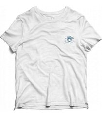 camiseta estonada vaca lã´ca infantil - branco - branco - dafiti