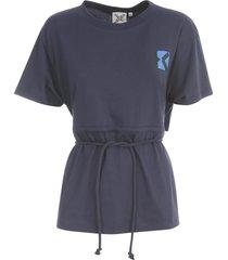 kenzo sport t-shirt met open rug