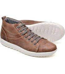 sapatênis cano alto top franca shoes masculino - masculino