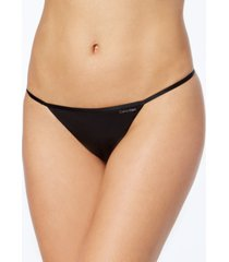 calvin klein sleek model g-string thong underwear d3509