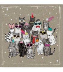 "hammond gower fancy pants cats vii canvas art - 27"" x 33"""