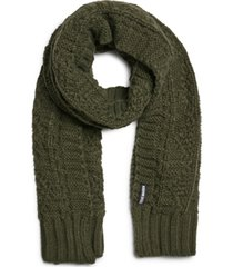 steve madden men's cable-knit scarf