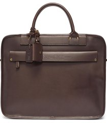 'heritage' leather briefcase